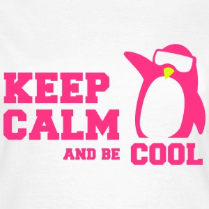 penguin keep calm T-shirts - T-shirt dam