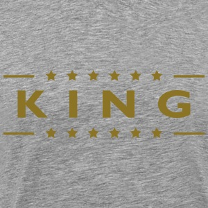 King T-shirts - Herre premium T-shirt