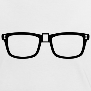 nerd - glasses T-Shirts - Women's Ringer T-Shirt