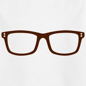 Brille T-Shirts - Teenager T-Shirt