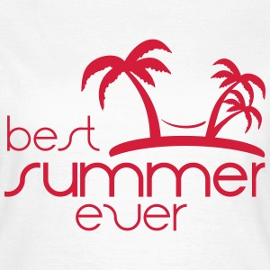best summer ever T-Shirts - Frauen T-Shirt
