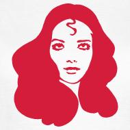 Motiv ~ T-Shirt FB Head+Logo Damen