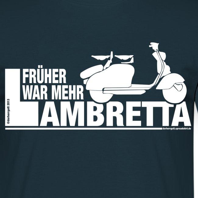Früher war mehr Lambretta