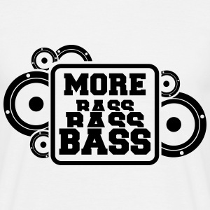 dubstep meer bass T-shirts - Mannen T-shirt