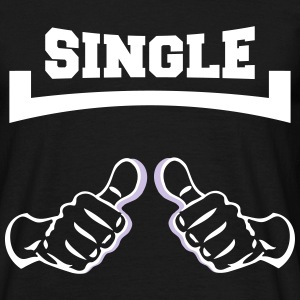 hænder single T-shirts - Herre-T-shirt