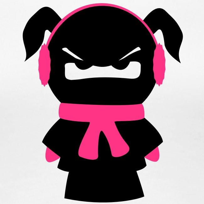 winterfestet Ninjamädel