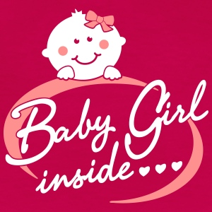 Baby Girl inside T-Shirts - Frauen Premium T-Shirt