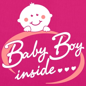 Baby Boy inside Bags & backpacks - EarthPositive Tote Bag