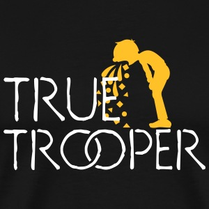 true trooper (1c) T-Shirts - Männer Premium T-Shirt