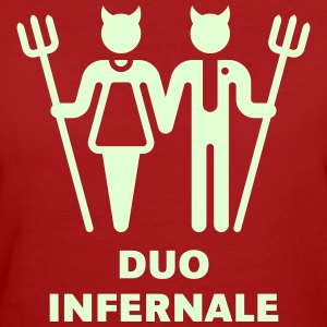 Duo Infernale, T-Shirt - Frauen Bio-T-Shirt