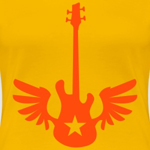 bass wings T-Shirts - Frauen Premium T-Shirt