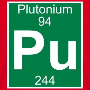 Plutonium (Pu) (element 94) - Men's T-Shirt