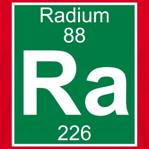 Elements 88 - ra (radium) - Full (white) Koszulki - Koszulka męska