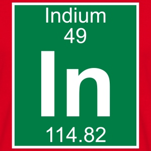 Indium (In) (element 49) - Men's T-Shirt