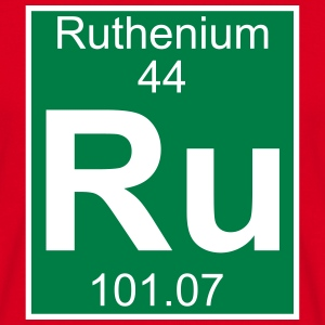 Ruthenium (Ru) (element 44) - Men's T-Shirt