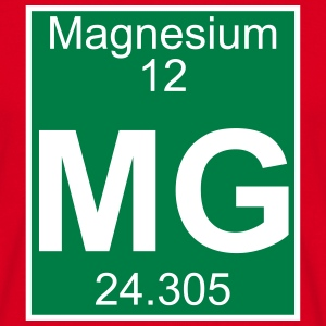Elements 12 - mg (magnesium) - Full (white) T-Shirts - Männer T-Shirt