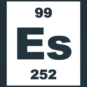 Element 99 - es (einsteinium) - Short-inv T-skjorter - T-skjorte for kvinner