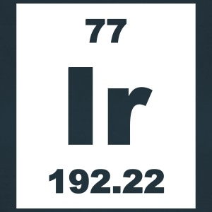 Iridium (Ir) (element 77) - Women's T-Shirt