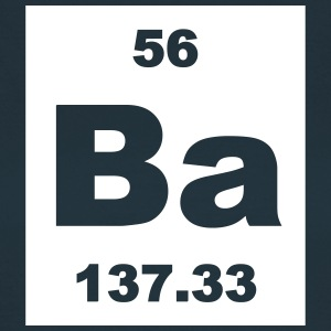 Element 56 - ba (barium) - Short-inv T-skjorter - T-skjorte for kvinner