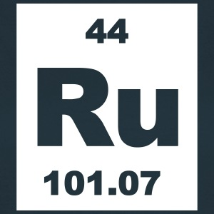 Ruthenium (Ru) (element 44) - Women's T-Shirt