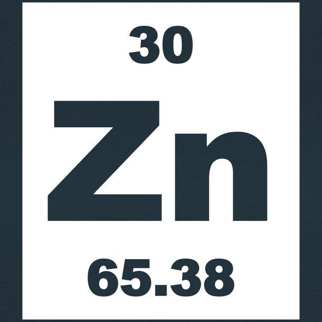 Periodic Table Words Zinc Zn Element 30 Short Invert Shirt
