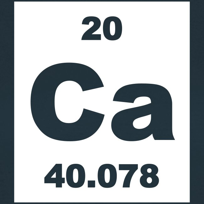 Periodic table words calcium ca element 20 short invert calcium ca element 20 short invert shirt urtaz Gallery