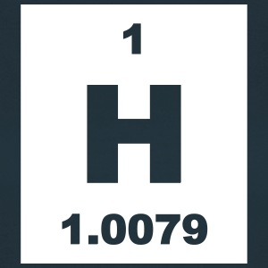 Element 1 - h (hydrogen) - Short-inv T-skjorter - T-skjorte for kvinner
