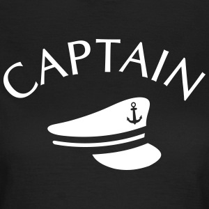 CAPTAIN  T-shirts - Vrouwen T-shirt