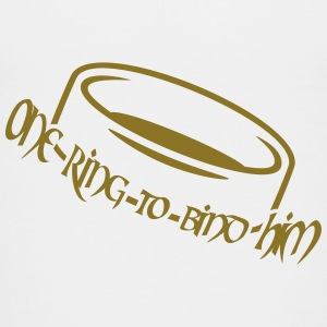 One ring to bind him (a, 1c) Shirts - Kids' Premium T-Shirt