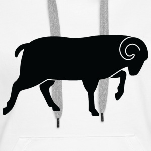 Sheep (dd)++2013 Hoodies & Sweatshirts - Women's Premium Hoodie