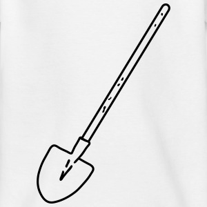 shovel construction worker_p1 Shirts - Teenage T-shirt