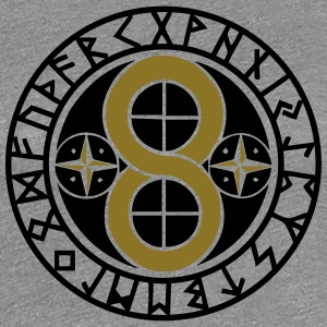 Hex Sign Creation & Materialization, Runes T-skjorter - Premium T-skjorte for kvinner