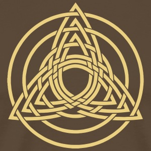 Triquetra, Germanic paganism, Celtic art, T-Shirts - Men's Premium T-Shirt