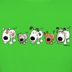 Funny Dogs - Cane - Cani - Cartoon Magliette - T-shirt ecologica da donna