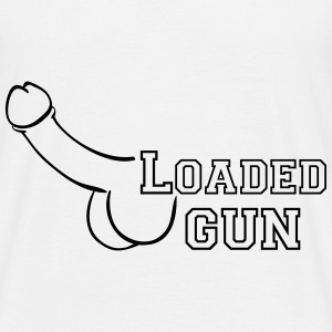 loaded gun T-Shirts - Männer T-Shirt