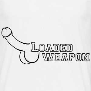 loaded weapon T-Shirts - Men's T-Shirt