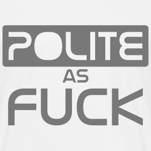 poli as fuck Tee shirts - T-shirt Homme