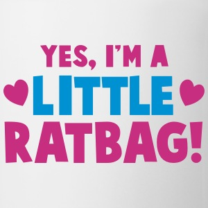 YES, I'm a little RATBAG! naughty child funny  Bottles & Mugs - Mug