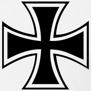 iron cross t-shirt - Men's T-Shirt