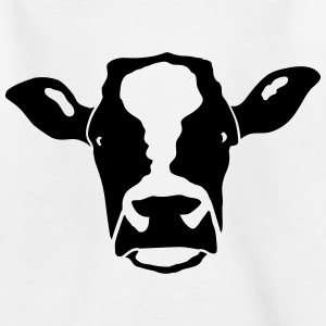 cow head T-Shirts - Teenager T-Shirt