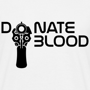 donate blood T-Shirts - Men's T-Shirt