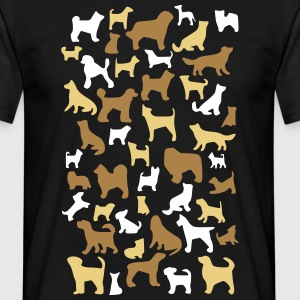 many dogs T-shirts - Mannen T-shirt