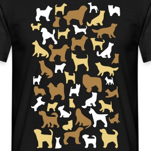 many dogs T-shirts - Herre-T-shirt