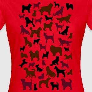 many dogs T-shirts - Vrouwen T-shirt
