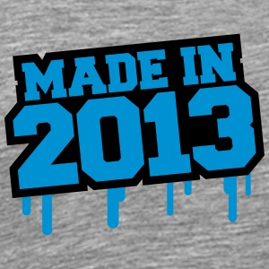 Made In 2013 T-shirts - Premium-T-shirt herr