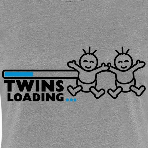 Twins Loading T-Shirts - Frauen Premium T-Shirt