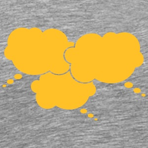 3 Thought Bubbles T-Shirts - Männer Premium T-Shirt