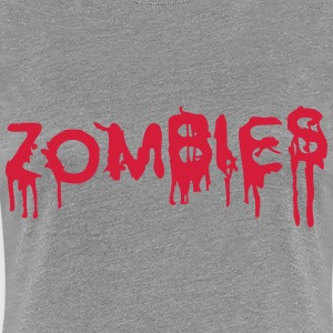 Zombies Design T-Shirts - Frauen Premium T-Shirt