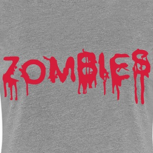 Zombies Design T-Shirts - Women's Premium T-Shirt