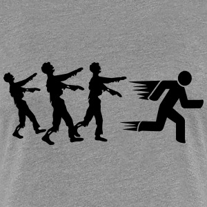 Run From Zombies T-Shirts - Women's Premium T-Shirt